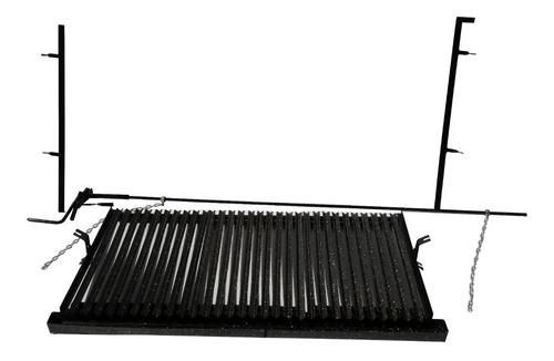 parrilla de amurar 1,25 m modulos enlozados y desmontables