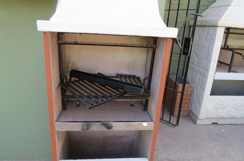 parrilla de material para balcon y espacios reducidos