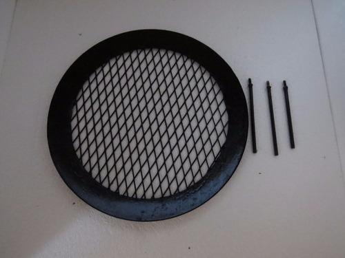 parrilla desarmable portatil a rosca para pesca y camping