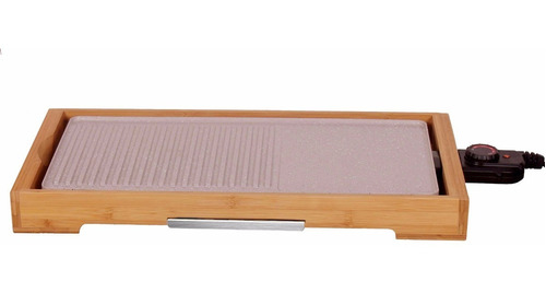 parrilla electrica coolbrand - grill - bamboo - ceramico