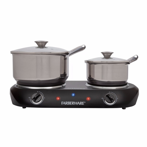 parrilla electrica doble calefaccion faberware 1500 w 6495