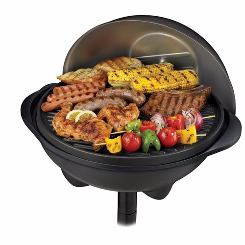 parrilla electrica george foreman ggr50b para interior o ext