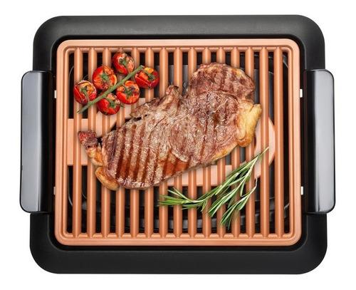 parrilla electrica gotham steel grill antiadherente 1050 w