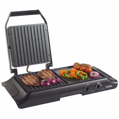 parrilla electrica grill acero inoxidable plancha asador