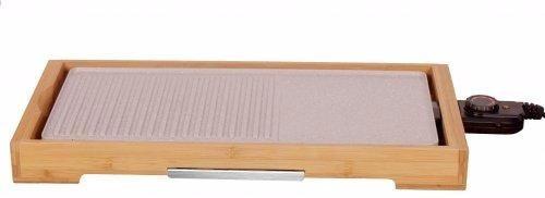 parrilla electrica grill bamboo eco ceramic coolbrand 2000w