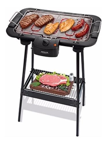 parrilla electrica portatil mondial weekend 2 grill 2000w