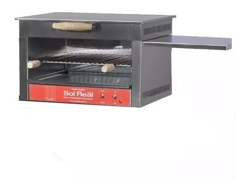parrilla electrica sin humo sol real 49x50 cm b/consumo 198