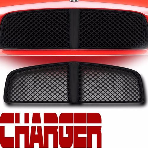 parrilla en configuracion de malla dodge charger 2006 - 2010