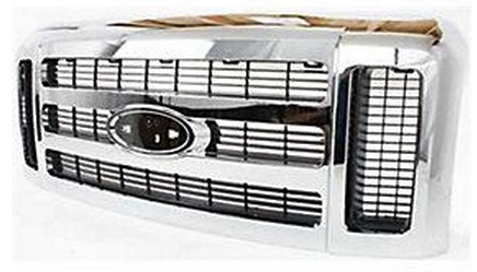 parrilla ford f250 f350 f450 2008 - 2010 cromada nueva!!!!!