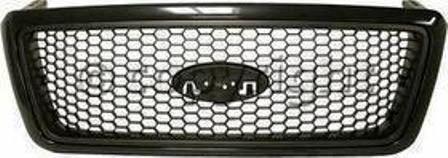 parrilla ford lobo f-150 2004 - 2008 marco negro