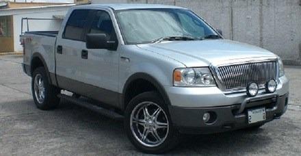 parrilla frontal cromada ford fx4 2005-2010 importada