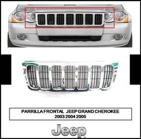 Grand Cherokee 2003-2005 Parrilla Delantera Parrilla Parrillas Chrom Para Jeep
