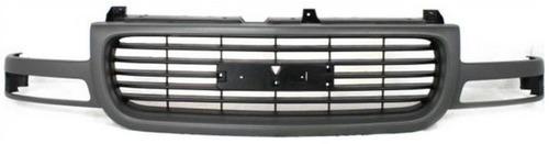 parrilla gmc sierra 1999 - 2002 marco color gris nueva!!!!