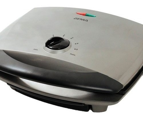 parrilla grill electrico atma 4720 doble tapa antiadherente