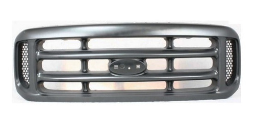 parrilla gris argento ford f250 f350 f450 1999 - 2004