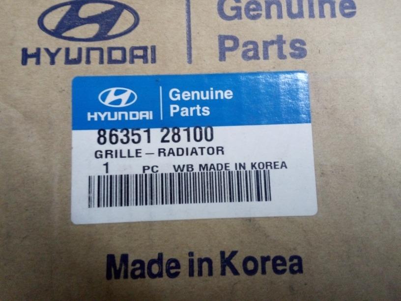 Genuine Hyundai 86351-28100 Radiator Grille