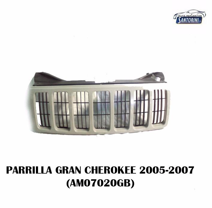 Parrilla Jeep Gran Cherokee P/pintar 2005-2007 - Bs. 548.800,00 en ...
