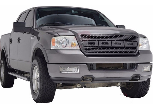 parrilla lobo f-150 f150 2004 - 2008 color fibra de carbon