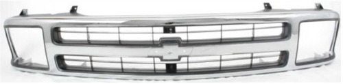 parrilla marco cromado chevrolet  s-10 s10 1994 - 1997