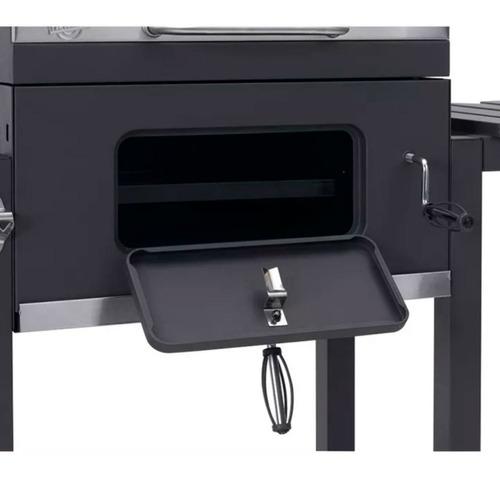 parrilla movil asador lusqtoff portatil regulable altura