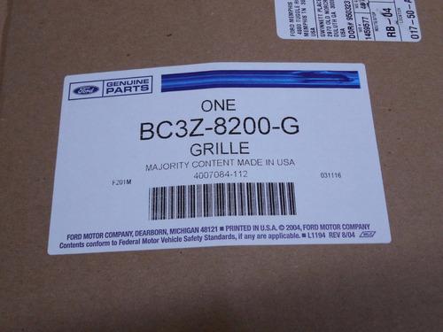 parrilla negra super duty f250 f350 2011-2016 original ford