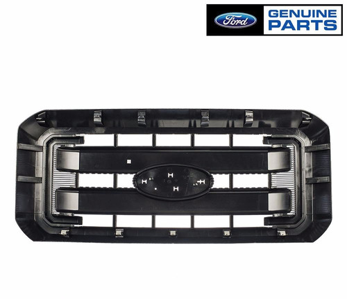 parrilla negra super duty f250 f350 2011-2016 original ford