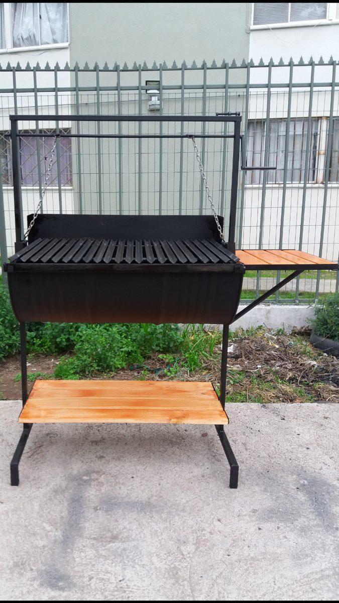 Parrilla para asados tipo v argentina en - Parrillas para asar carne ...