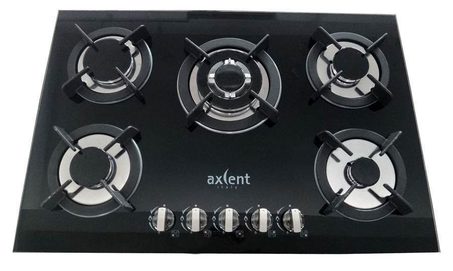 Parrilla para cocina 5 quemadores de gas axcent mexico for Quemadores de cocina de gas butano