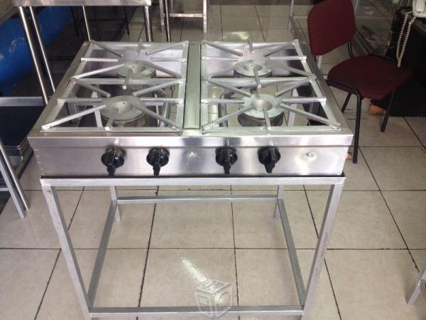 parrilla plancha cocina estufa industrial 2 en