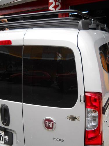 parrilla porta equipaje fiat qubo corta reforzado warnes