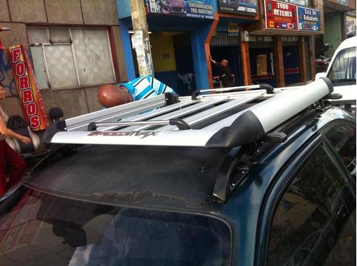 parrilla portaequipaje techo carro camioneta auyo