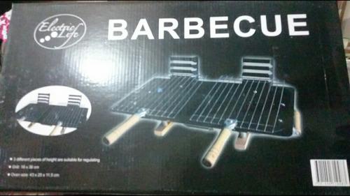 parrilla portátil barbecue