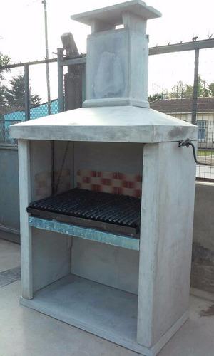 parrilla premoldeada de 1.20m lisa en cemento para pintar