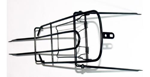 parrilla rack trasero bicicleta con abrazadera y sujetador