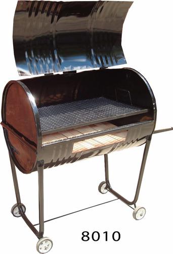parrilla rodante chulengo tambor con carbonera desmontable