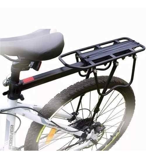 ec6e126c717 Parrilla Soporte Rack Bicicleta Alforja 110 Lb + Obsequio - $ 84.500 ...