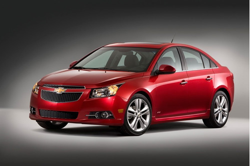 parrilla superior chevrolet cruze