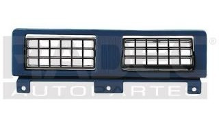 parrilla tablero central nissan d21 1986-1987-1988-1989 azul