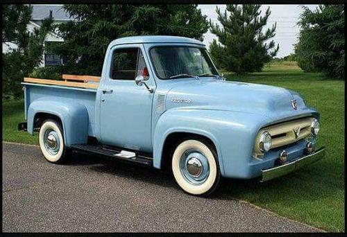 parrilla y bajo parrilla replica en fibra ford 1956