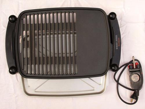 parrilla y plancha eléctrica. grill. black & decker lg201