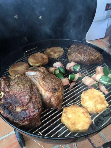 parrilladas carnes asadas para eventos