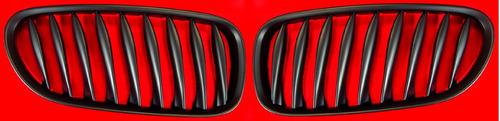 parrillas color negro bmw z4 2003 - 2008 juego / par nuevas!