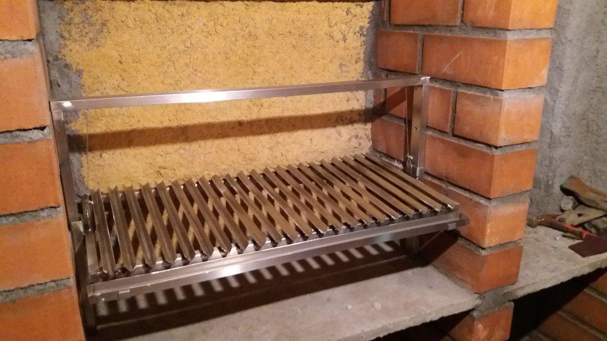 Parrillas para asados en acero inoxidable en for Parrilla para la casa