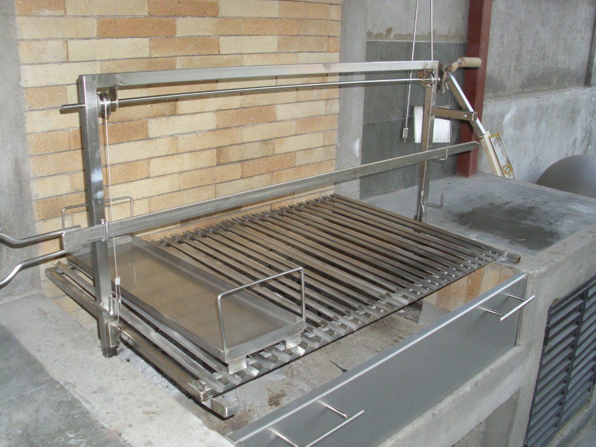 Parrillas para asados en acero inoxidable vivamet en mercado libre - Parrillas para asar carne ...