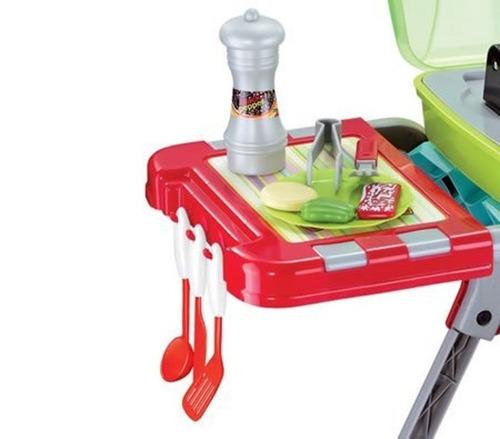 parrillera asador cocinita de juguete para nios y nias
