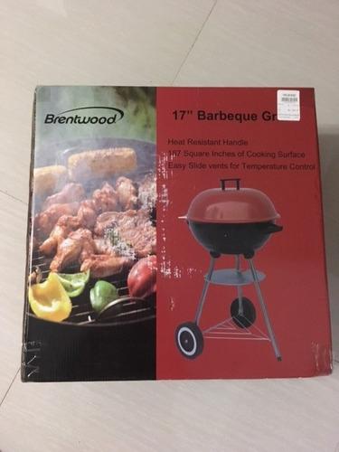 parrillera brentwood de 17'' bbq grill  nueva