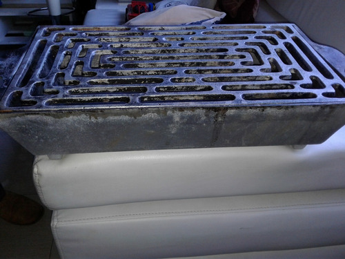 parrillera de aluminio