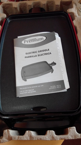 parrillera electrica