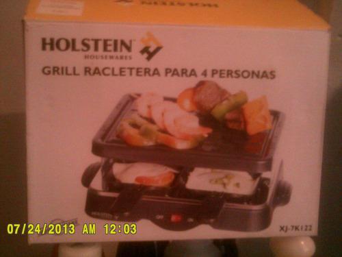 parrillera holstein grill para 4 personas