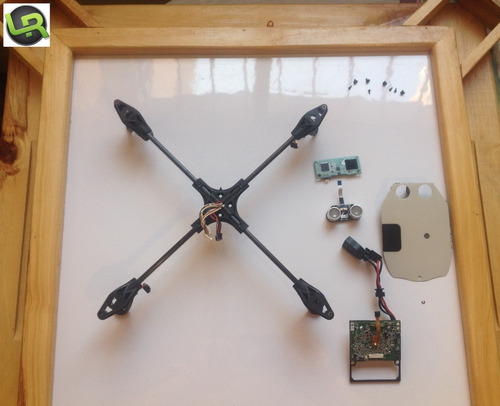 parrot ar drone 2.0 central cross